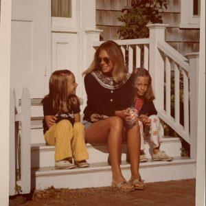 Gretchen Gunlocke Fenton and mom