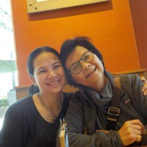 Sarina Sherwin and mom